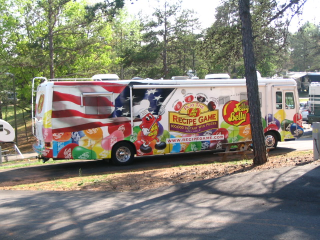 The Jelly Belly Wagon