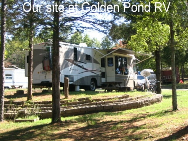 Golden Pond RV Park, Shirley, AR