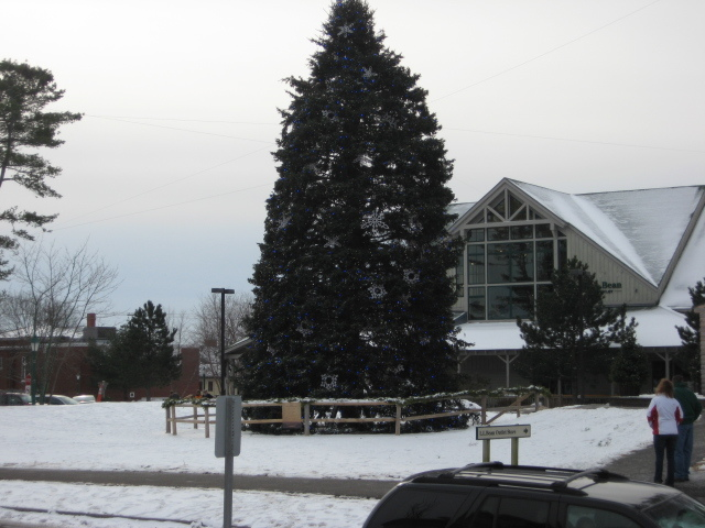 Second Visit to LL Bean, Freeport, ME