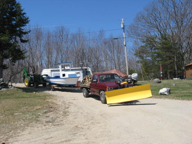 Campground Spring Clean Up