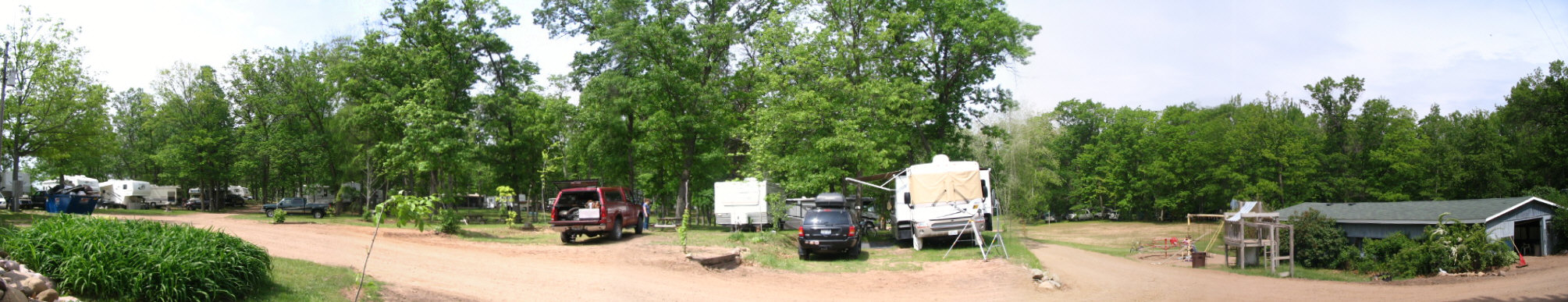 Scenic View Campground, Spooner, WI